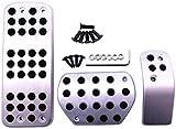 HZHAOWEI Coche en reposapiés Placa de Almohadilla de Pedal de Freno. para Citroen DS3 DS4 DS6 C3 C4 DS 3 4 6. para Peugeot 307208 2008308408 CC 207301