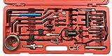 Conjunto de herramientas para calado de distribucion de PSA Citroen Peugeot Land rover Mitsubishi, Lancia motores DIESEL HDI y GASOLIN HPI 1.0 a 2.5