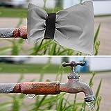 Guante de grifo de nailon resistente al agua, portátil, fácil de usar, para ayudar a prevenir daños en la tubería de agua congelada Brond Nuevo(gray)