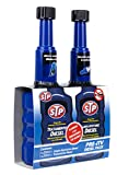 STP ZSTP04 Kit pre-ITV con Limpia Inyectores Coches Diésel, 200 ml