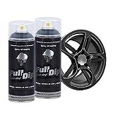 AutoFullCar Full Dip Pack 2 Spray Negro Mate FULLDIP PLASTIDIP - TiendaFullDip.com (Negro Mate)