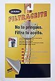 Sanfor Filtro de Aceite Cocina| Papel Blanco | para aceiteras y graseras | Talla única | 24 Unidades