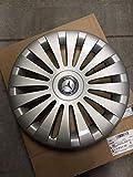 Mercedes Benz Tapacubos originales de 17 pulgadas, color plata/azul, W 639 Viano & Vito año de fabricación 2003 – 04/2014