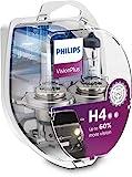Philips 12342VPS2 VisionPlus - Bombillas H4 para faros delanteros (2 unidades)