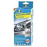 ATG Kit pulido faros coche, elimina rayas y aclara los faros de plástico | Restaurador faros con accesorio para taladro
