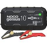 NOCO GENIUS10EU, Inteligente automático de 10A, Cargador 6V y 12V, mantenedor desulfatador de batería con compensación de Temperatura
