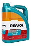 REPSOL Elite Competicion 5W-40 Aceite De Motor Para Coche, 5L