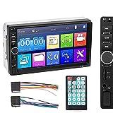 Nopnog Pantalla táctil para coche HD multimedia, reproductor MP5/FM, pantalla de inversión automática, 7 pulgadas