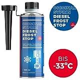 SYPRIN Diesel Frost Stop Aditivo para el Invierno - Aditivo para gasóleo Aditivo para Mejorar el Flujo - Protección contra Las heladas y protección para el Invierno (300ml)