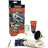 ZCENTER Kit de restauración de Faros de Automóviles pulir Faros Coche para Restaurar Faros turbios, Restaurador De Faros amarillentos o Desgastados