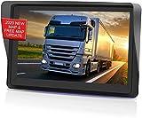 GPS coches, 7 Pulgadas Navegadores GPS para Coche, pantalla táctil capacitiva de alto brillo, Actualización del mapa de por vida,Dirección de giro recordando voz real hablada