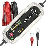 CTEK MXS 5.0 Cargador de Batería Totalmente Automático (Carga, Mantiene y Reacondiciona las Baterías de Coche y Moto) 12V, 5 Amp – Toma EU