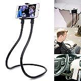 Soporte Flexible para teléfono móvil para Colgar del Cuello, Soporte para alargar el Brazo con Cierre y Giratorio 360 para Smartphone o Tablet para Todos los Modelos y tamaños