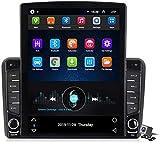 Android 9.1 GPS del Coche Navegación Multimedia Radio Pantalla de 9.7 Pulgadas Vertical para Audi A3 S3 RS3 2006-2012, Dirección de la Ayuda FM DSP RDS/DVD/Bluetooth Control de la Rueda
