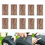 CICMOD 50 pcs Kit de Mecha Pinchazos para Reparación Neumáticos de Coche, Moto y Bicicletas 10 cm