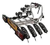 Witter Towbars Zx204Portabicicletas para 4 Bicicletas, se Monta en la Bola de Remolque