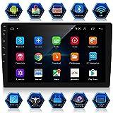 ANKEWAY Android 9.1 & RDS Radio de Coche 2 DIN 10.1 Pulgadas Navegación GPS 1080P HD Pantalla Táctil WiFi/Bluetooth Manos Libres 1G/16G Reproductor de Coche+Internet WiFi+Cámara de Visión Trasera